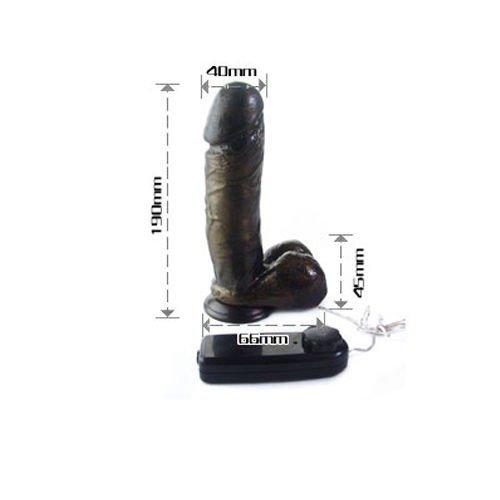 Dương vật giả hàng khủng Black chi tiết