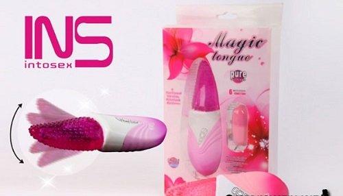 Hộp gói đồ chơi tình dục cho nữ lưỡi liếm siêu mềm
