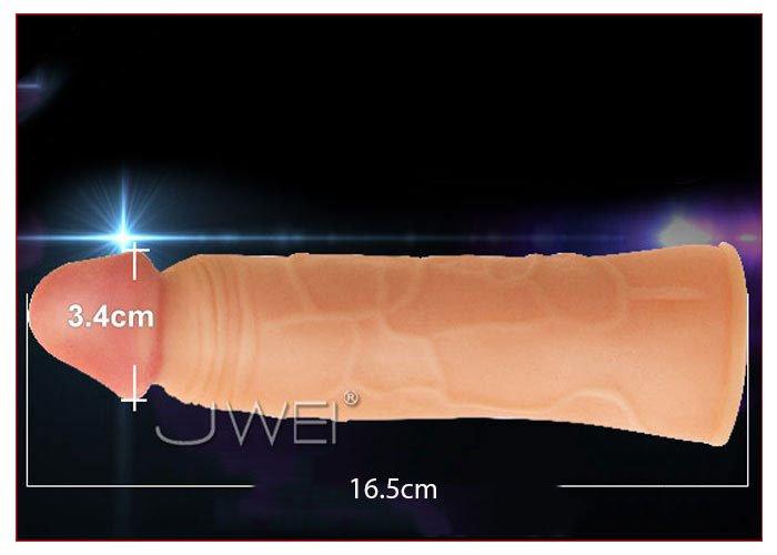 Kích thước bao cao su đôn dên 3 phân siều mềm USA