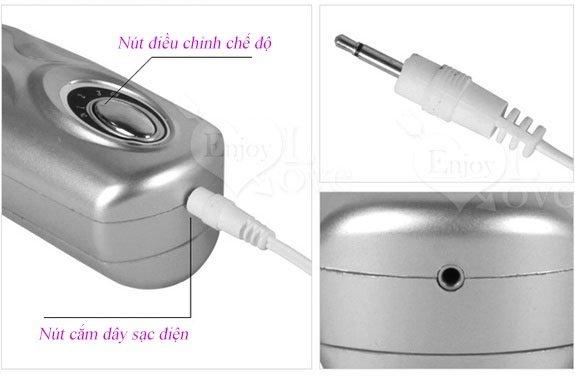 Sử dụng Lưỡi liếm âm đạo silicon cao cấp kèm trứng rung
