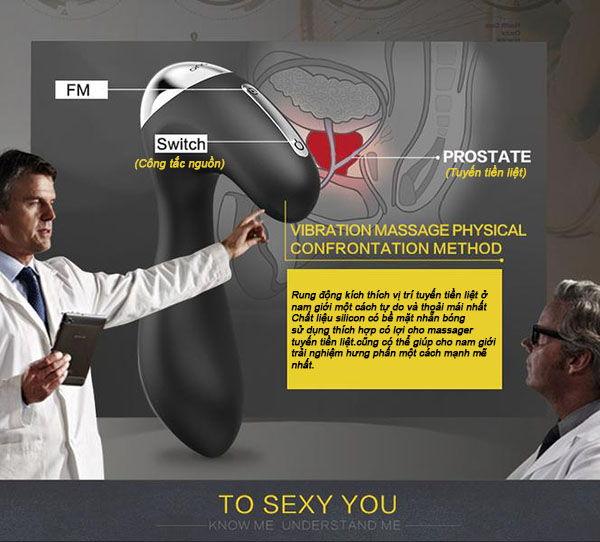 Hình ảnh Đồ chơi tình dục máy rung hậu môn cao cấp Nalone Prop