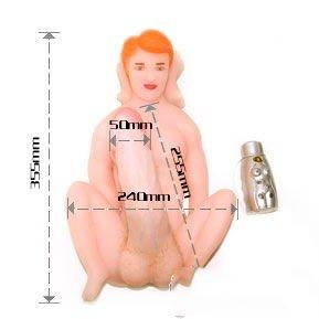 Búp bê tình dục nam silicon dương vật giả chi tiết hình ảnh
