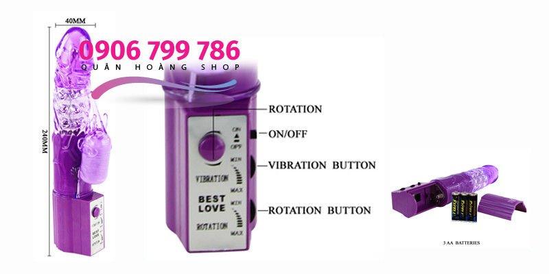 Dương vật giả cao cấp Cute Baby Vibrator đa chức năng chi tiết