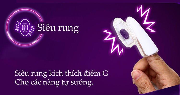 Máy massage điểm G Durex Play Finger sử dụng