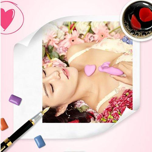 Máy massage điểm G Luxeluv giá rẻ mini đẹp mê li