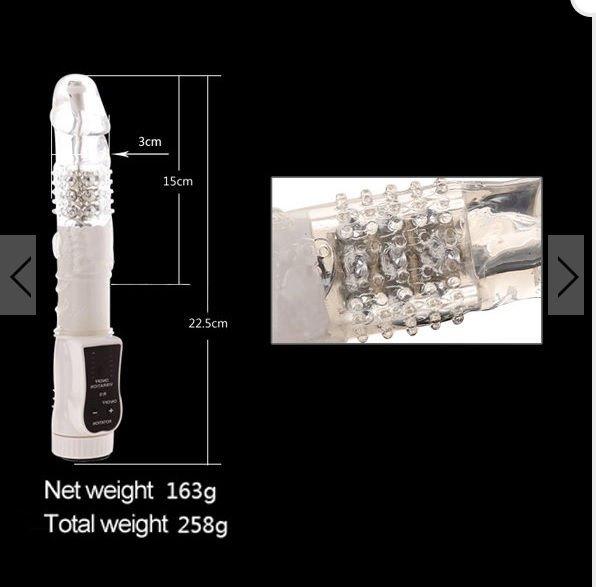 Dương vật giả Loveaider Diamond kích thước chi tiết