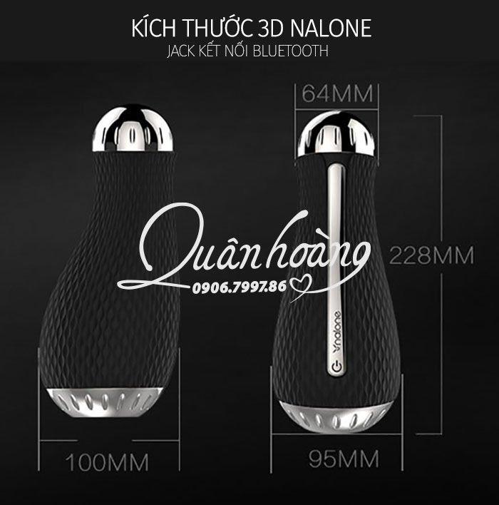 Hình ảnh kích thước và chức năng cốc thủ dâm 3D Nalone Jack cho nam