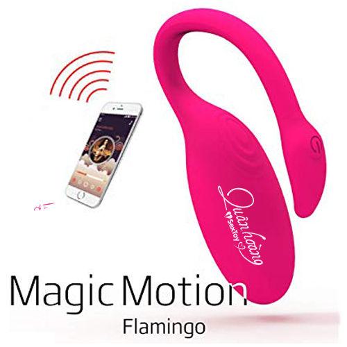 Trứng rung điều khiển bằng điện thoại smartphone Flamingo