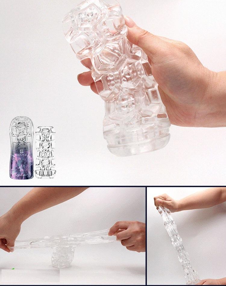 Cấu trúc bên trong cốc thủ dâm trong suốt giá rẻ Loveaider